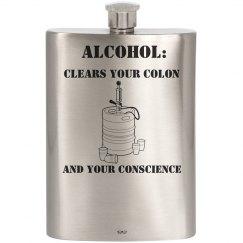 Conscience 8oz Flask