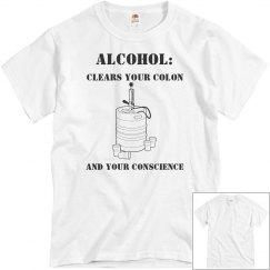 Unisex Alcohol Conscience Shirt