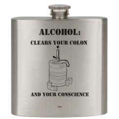 Conscience 6oz Flask