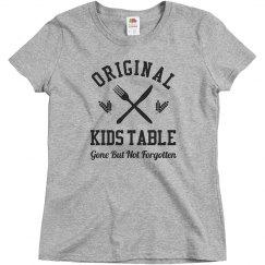 Original Member Of The Kids Table