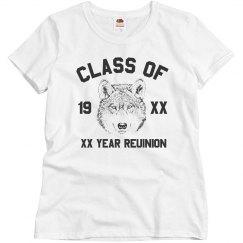 Class Reunion Custom Year