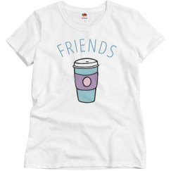 Pastel Best Friends Coffee