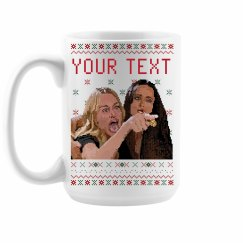 Woman Yelling Pixel Mug