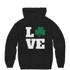 Cozy St Patty's Clover Love
