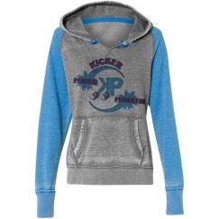 KP Vintage Blue Hoodie