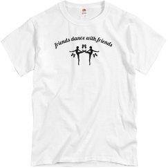 Dancers edge friend tee