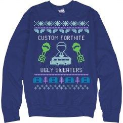 Custom Fortnite Ugly Sweaters