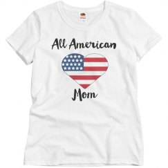All American Mom Shirt