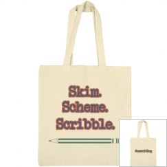SSS #amwriting Dual Tote