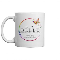 K.A. Belle Logo Coffee Mug