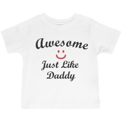 Awesome like daddy