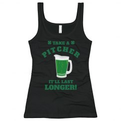 Take A Pitcher St Pats Bartender