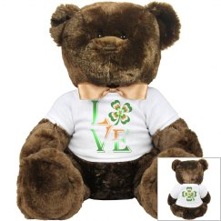 Love Ireland Clover, Teddy Bear