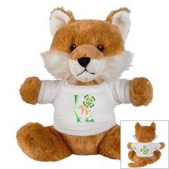 Love Ireland Clover, Teddy Bear