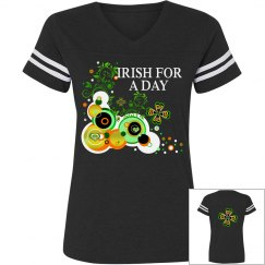 Irish for a day, casual top