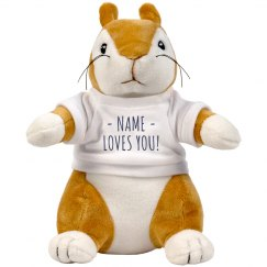 Custom Squirrel Loves You