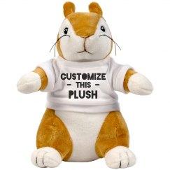 Custom Squirrel Plush
