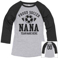 Custom Proud Soccer Nana