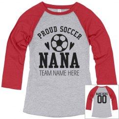 Proud Soccer Grandma Shirt