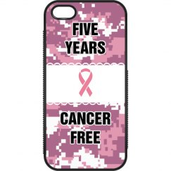 Cancer Free iPhone Case