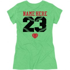 Cute Baseball Girl Shirts You Can Customize