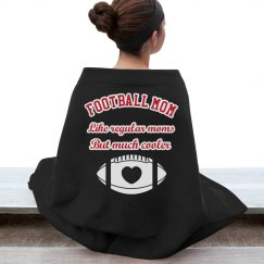 Football Mom Stadium Blanket