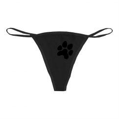 Paw print panties