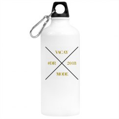 GOLD ALUMINUM WATER BOTTLE