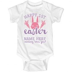 Baby's First Custom Easter Onesie