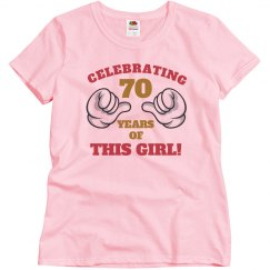 70 years of this girl
