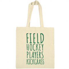 Field Hockey Players Kick