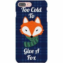 Fox Pun Christmas Case