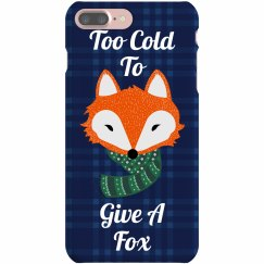 Fox Pun Christmas Case