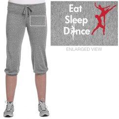 eat sleep dance sweatpant
