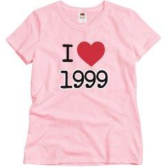 I love 1999.