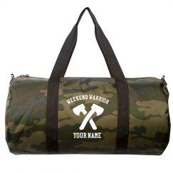 Add Your Name Weekend Warrior Duffel Bag