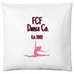Flip sequin pillow
