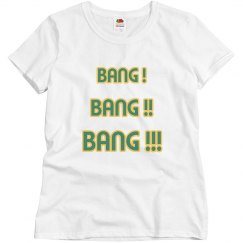 Bang bang bang white/green/yellow