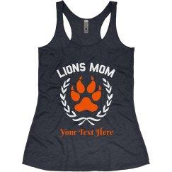 Lions Custom Football Tank Tee
