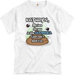 Kathryn, my love....