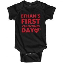 Baby Boy First Valentine