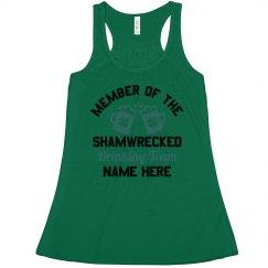 Custom Shamwrecked Drinking Team