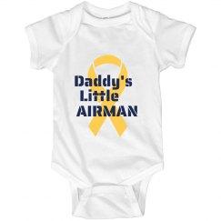 Daddy's Airman Onesie