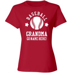 Custom Baseball Grandma