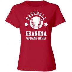 6fc51c82c Custom Baseball Grandma Shirts, Sweatshirts, & Hats