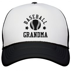 Baseball Grandma Hat