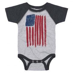 American Flag USA Pride Baby