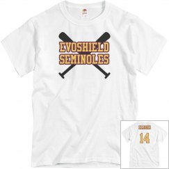 Mens Evoshield Seminoles Shirt