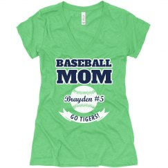 Personalized Baseball Mom