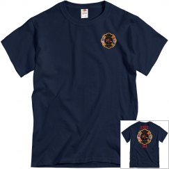 Mt. View Fire Department Tee - Navy